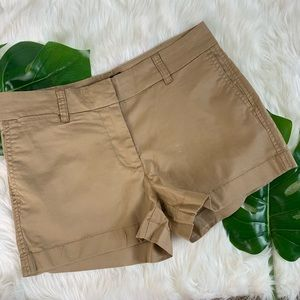 "J. Crew | 3"" Stretch Chino Shorts"